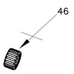 Hubzapfenlager 20x26x15 B4 - DST OK