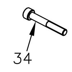 Schraube M6x45 - Mini Rok