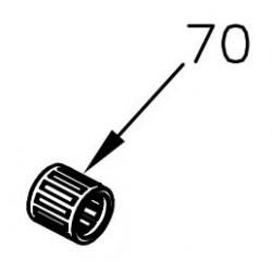 Kolbenbolzenlager 12x16x15
