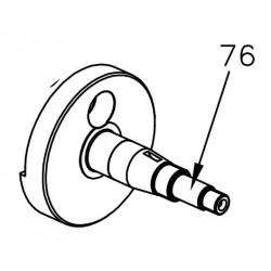 Kurbelwellenhälfte Antriebsseite - Mini Rok