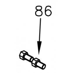 Schraube M5x8 - Mini Rok