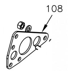 Halterung Benzinpumpe - Mini Rok