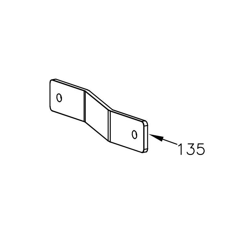Halterung Luftfilter - Mini Rok