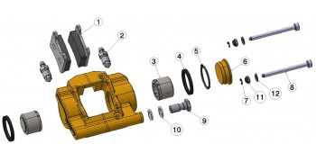 STR-V1 Bremssattel