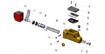 Bremspumpe STR-V1 RBS-V1