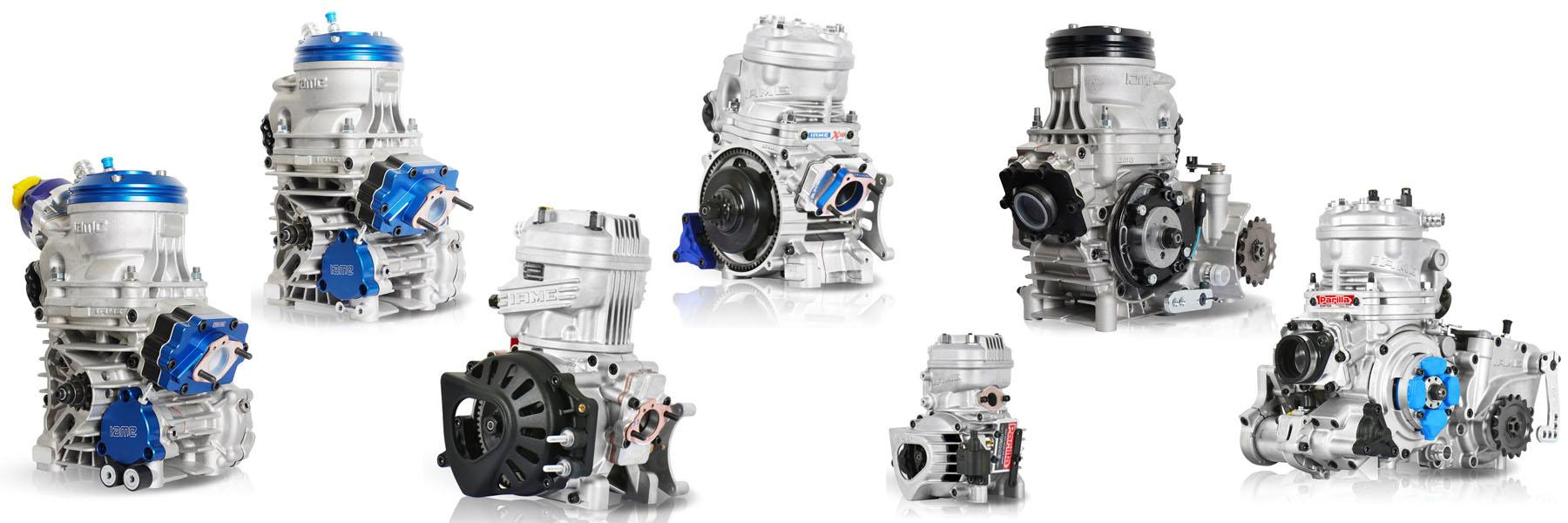 IAME Motoren und Ersatzteile